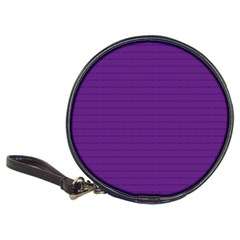 Pattern Violet Purple Background Classic 20-CD Wallets