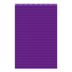 Pattern Violet Purple Background Shower Curtain 48  X 72  (small)