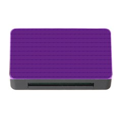 Pattern Violet Purple Background Memory Card Reader with CF