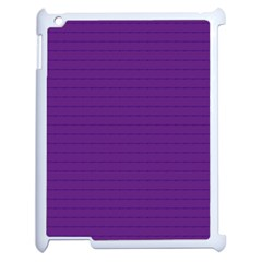 Pattern Violet Purple Background Apple iPad 2 Case (White)