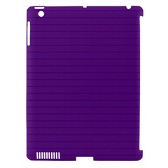 Pattern Violet Purple Background Apple Ipad 3/4 Hardshell Case (compatible With Smart Cover)
