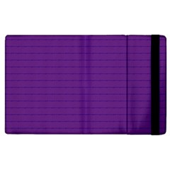 Pattern Violet Purple Background Apple iPad 3/4 Flip Case