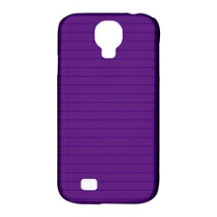 Pattern Violet Purple Background Samsung Galaxy S4 Classic Hardshell Case (PC+Silicone)