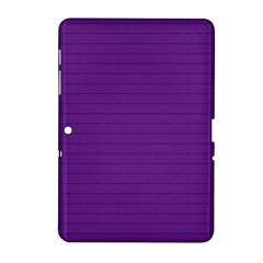 Pattern Violet Purple Background Samsung Galaxy Tab 2 (10 1 ) P5100 Hardshell Case