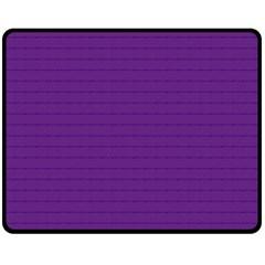 Pattern Violet Purple Background Double Sided Fleece Blanket (Medium)