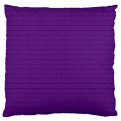 Pattern Violet Purple Background Large Flano Cushion Case (one Side)
