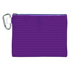 Pattern Violet Purple Background Canvas Cosmetic Bag (XXL)