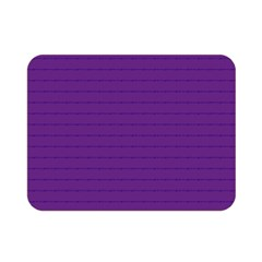 Pattern Violet Purple Background Double Sided Flano Blanket (Mini)