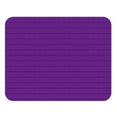 Pattern Violet Purple Background Double Sided Flano Blanket (Large)