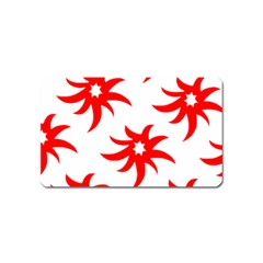 Star Figure Form Pattern Structure Magnet (name Card)