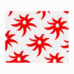 Star Figure Form Pattern Structure Small Glasses Cloth