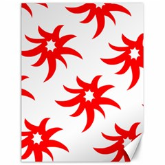 Star Figure Form Pattern Structure Canvas 12  x 16