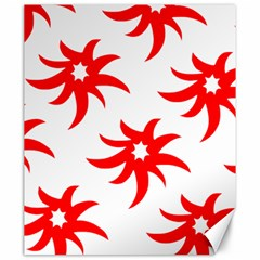 Star Figure Form Pattern Structure Canvas 20  x 24