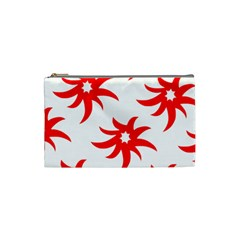 Star Figure Form Pattern Structure Cosmetic Bag (Small)