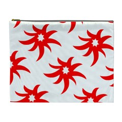 Star Figure Form Pattern Structure Cosmetic Bag (XL)
