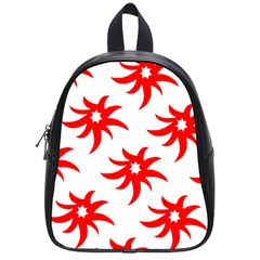 Star Figure Form Pattern Structure School Bags (Small)