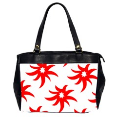Star Figure Form Pattern Structure Office Handbags (2 Sides)