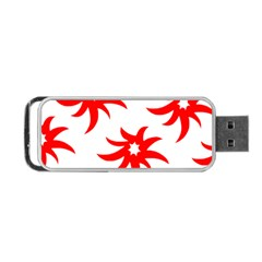 Star Figure Form Pattern Structure Portable Usb Flash (one Side)