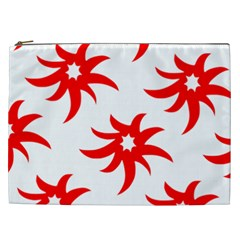 Star Figure Form Pattern Structure Cosmetic Bag (XXL)