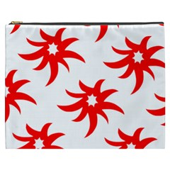 Star Figure Form Pattern Structure Cosmetic Bag (XXXL)
