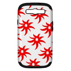 Star Figure Form Pattern Structure Samsung Galaxy S Iii Hardshell Case (pc+silicone)