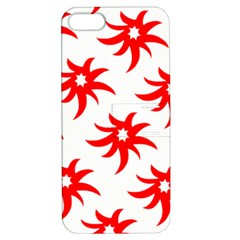Star Figure Form Pattern Structure Apple iPhone 5 Hardshell Case with Stand