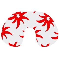 Star Figure Form Pattern Structure Travel Neck Pillows