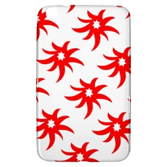 Star Figure Form Pattern Structure Samsung Galaxy Tab 3 (8 ) T3100 Hardshell Case