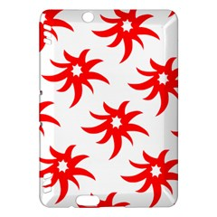 Star Figure Form Pattern Structure Kindle Fire HDX Hardshell Case