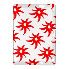 Star Figure Form Pattern Structure Kindle Fire Hdx 8 9  Hardshell Case