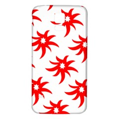 Star Figure Form Pattern Structure Samsung Galaxy S5 Back Case (white)