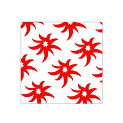 Star Figure Form Pattern Structure Satin Bandana Scarf