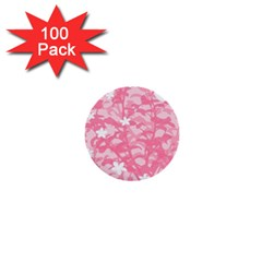 Plant Flowers Bird Spring 1  Mini Buttons (100 Pack)