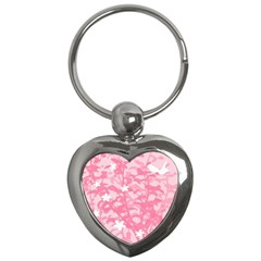 Plant Flowers Bird Spring Key Chains (heart)