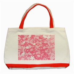 Plant Flowers Bird Spring Classic Tote Bag (Red)