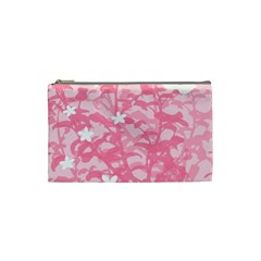 Plant Flowers Bird Spring Cosmetic Bag (Small)