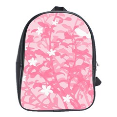 Plant Flowers Bird Spring School Bags(large)