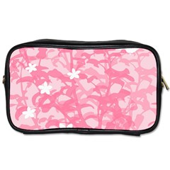 Plant Flowers Bird Spring Toiletries Bags