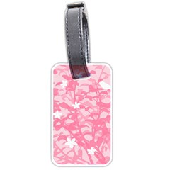 Plant Flowers Bird Spring Luggage Tags (One Side)