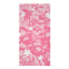 Plant Flowers Bird Spring Shower Curtain 36  x 72  (Stall)