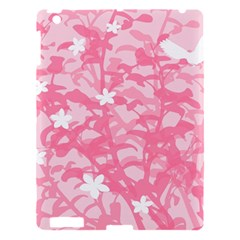 Plant Flowers Bird Spring Apple Ipad 3/4 Hardshell Case
