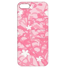 Plant Flowers Bird Spring Apple Iphone 5 Hardshell Case With Stand