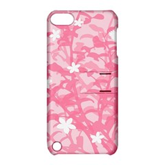 Plant Flowers Bird Spring Apple Ipod Touch 5 Hardshell Case With Stand