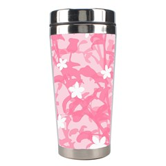 Plant Flowers Bird Spring Stainless Steel Travel Tumblers