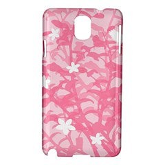 Plant Flowers Bird Spring Samsung Galaxy Note 3 N9005 Hardshell Case
