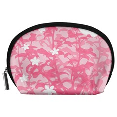 Plant Flowers Bird Spring Accessory Pouches (large)