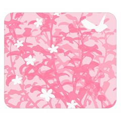 Plant Flowers Bird Spring Double Sided Flano Blanket (Small)
