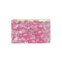 Plant Flowers Bird Spring Cosmetic Bag (xs)