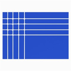 Stripes Pattern Template Texture Large Glasses Cloth (2-Side)