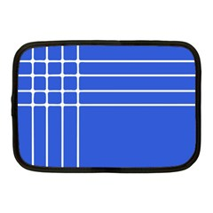 Stripes Pattern Template Texture Netbook Case (Medium)